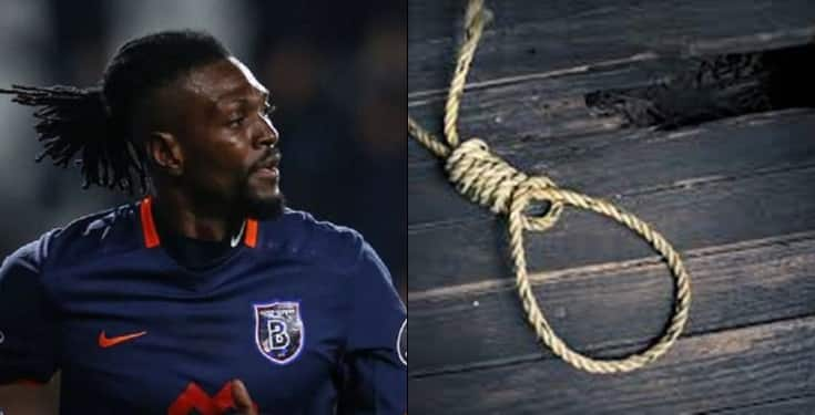 Emmanuel Adebayor Reveals How He Nearly Committed Suicide Due To Family Pressure