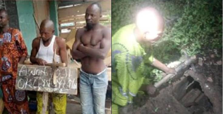 Bricklayer, two others arrested for stealing human parts from church's cemetery