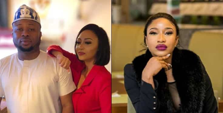 Why I cannot leave Tonto Dikeh's ex-husband –Rosaline Meurer