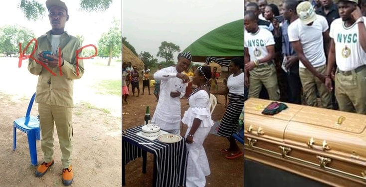 Corps member dies three days after his traditional wedding