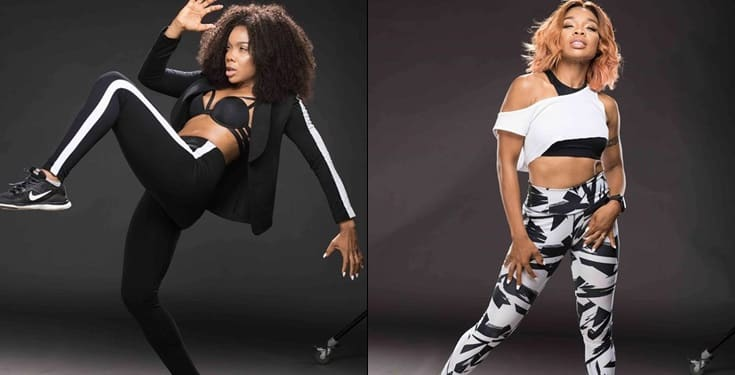 Kaffy puts her incredible physique on display