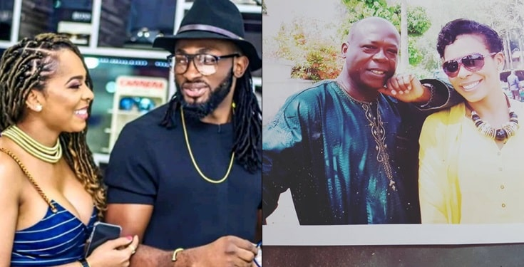 Uti Nwachukwu in trouble over marriage curse placed by Tboss' dad