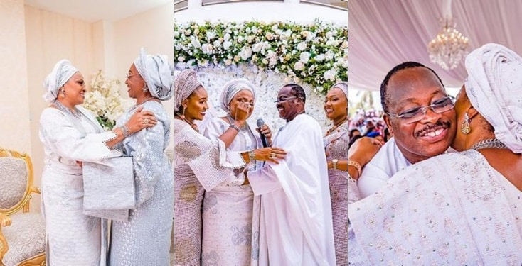Top dignitaries shut down Ibadan to celebrate Ajimobi's wife at 60