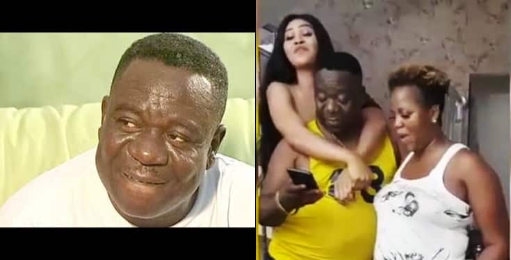 Mr. Ibu hangs out with family as proof to dispel rumour that he has stroke