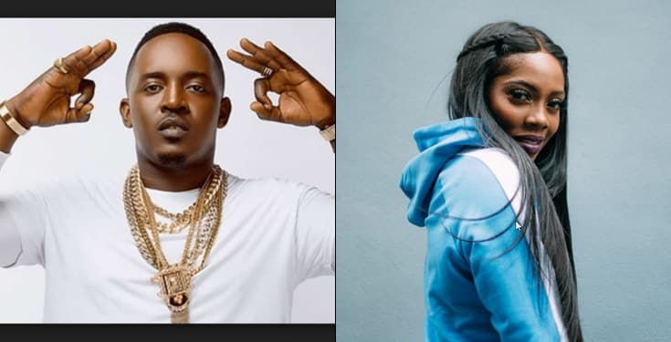 """Blessed to witness the rise & rise of Tiwa, You inspire me"" – MI Abaga tells Tiwa Savage"