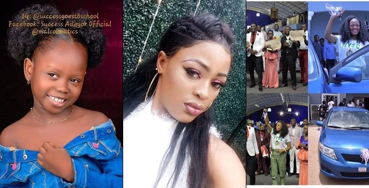 Stephanie, Who Made Success' Viral Video Gets A Car And 1M From Prophet Jeremiah Omoto