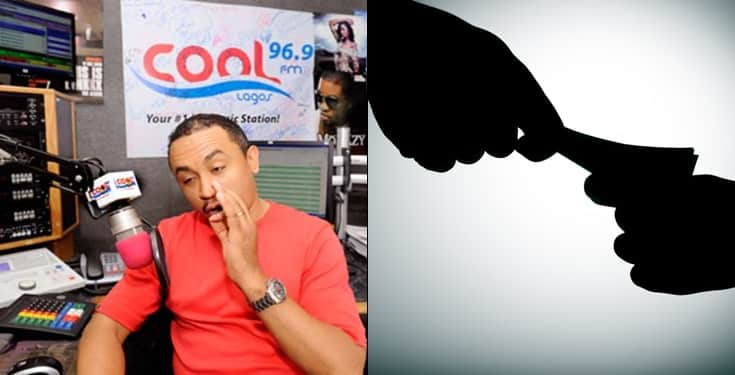 Daddy Freeze accused of taking 100k bribe from artistes before playing their songs on radio