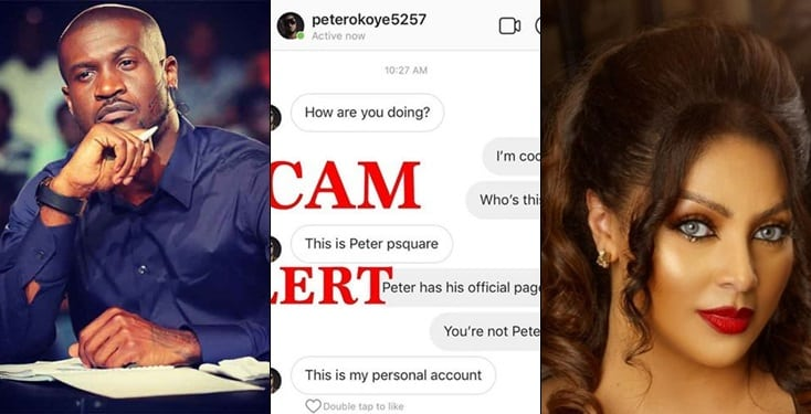 Peter Okoye Cries Out After Scammer Stole His Identity To Defraud Unsuspecting People