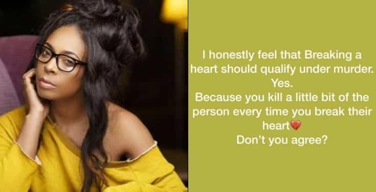 'Breaking a heart should qualify as murder' -BBNaija's Tboss