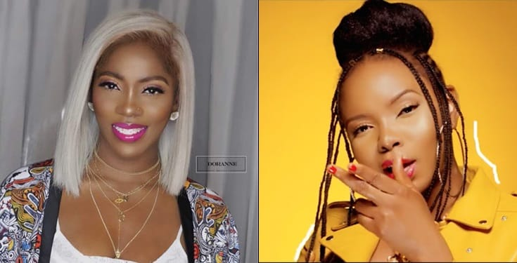 Yemi Alade blasts troll for suggesting that Tiwa Savage reigns over her