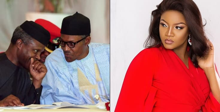 Nigeria is hellish under your watch – Omotola tells Buhari and Osinbajo