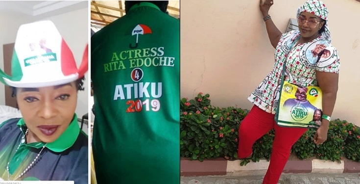Rita Edochie shuns birthday celebration because of Atiku's 'stolen mandate'