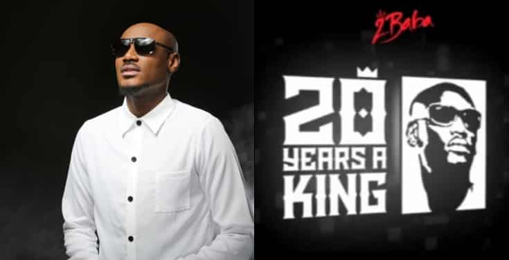 2Baba reveals what 20 years in music industry taught him