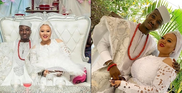 Comedian, Mariam gushes about her wedding to Tobi Bakre's brother Femi