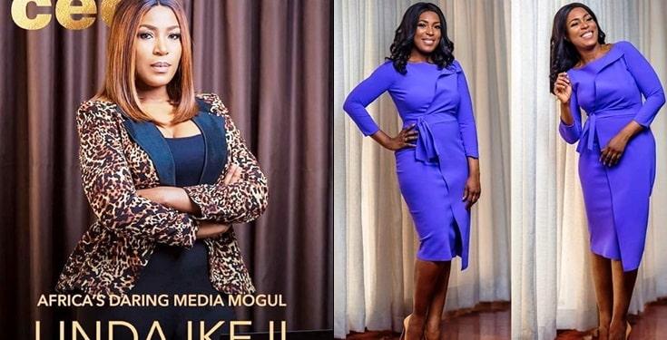 Linda Ikeji Covers Business Day Magazine