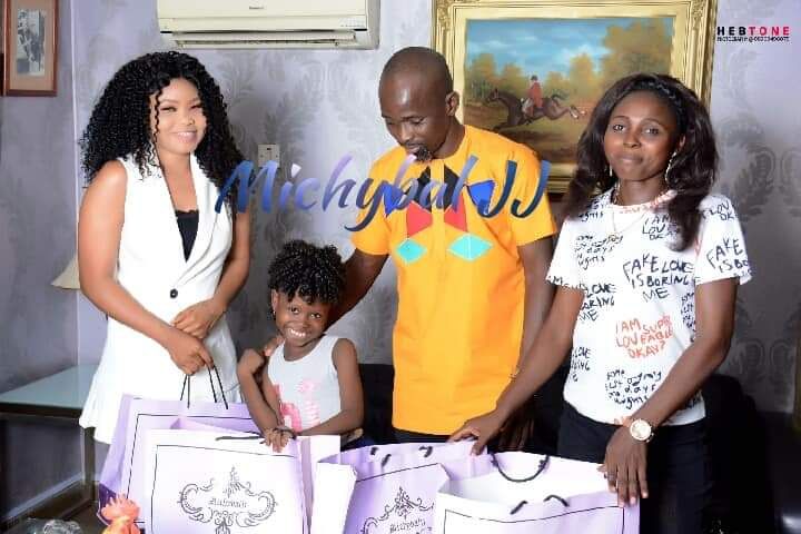 , Little Success Adegor has been signed by a Dubai Based Company House Of Michyba