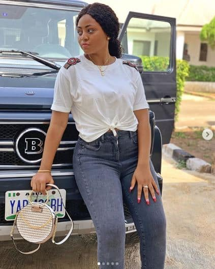 , Actress Regina Daniels takes delivery of her new Brabus (Photos), Latest Nigeria News, Daily Devotionals & Celebrity Gossips - Chidispalace
