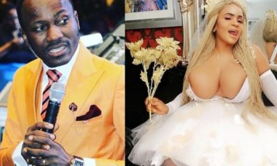 Actress Cossy Ojiakor mocks Apostle Suleman's manhood on social media