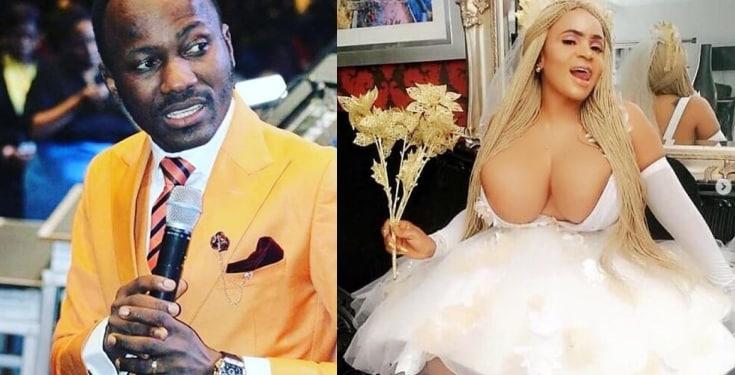 Actress Cossy Ojiakor mocks Apostle Suleman's manhood on social media