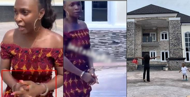 Blessing Okoro arrested by owner of house she claimed was hers