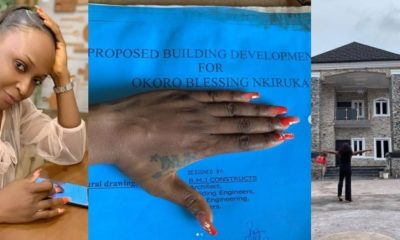 Blessing Okoro shares building plan to debunk rumours