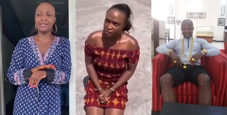 Blogger Okoro Blessing speaks after being arrested (Video)