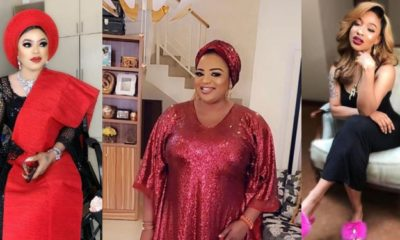 Bobrisky drags Funke Adesiyan for shading Tonto Dikeh
