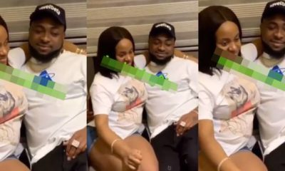 Davido and Chioma allegedly expecting their first child together (Video)