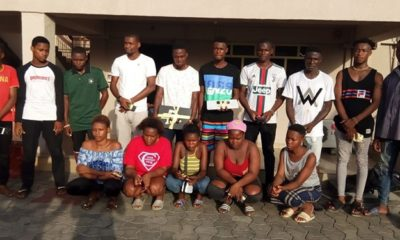 EFCC Arrests 15 Yahoo Boys and Girls in Rivers