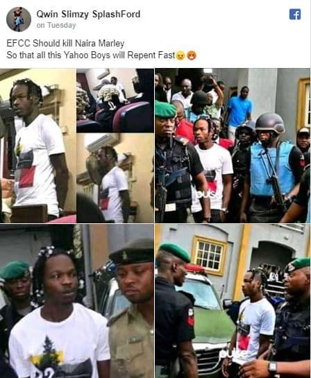 EFCC should kill Naira Marley, 'EFCC should kill Naira Marley' –  Nigerian lady demands