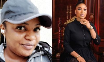Funke Adesiyan fires back at Tonto Dikeh, calls her a depressed woman
