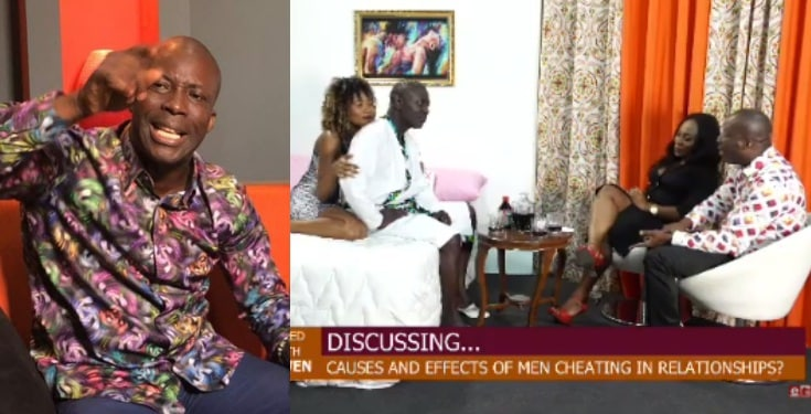 Ghanaian prophet, Kumchacha reveals what makes a man cheat in a relationship (Video)