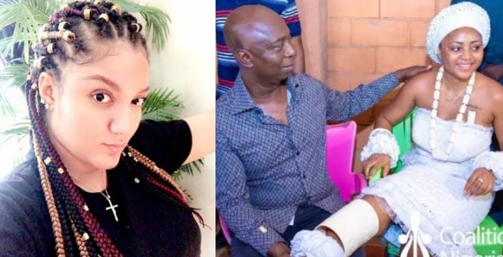 Gifty Powers reacts to Regina Daniels' marriage to Ned Nwoko