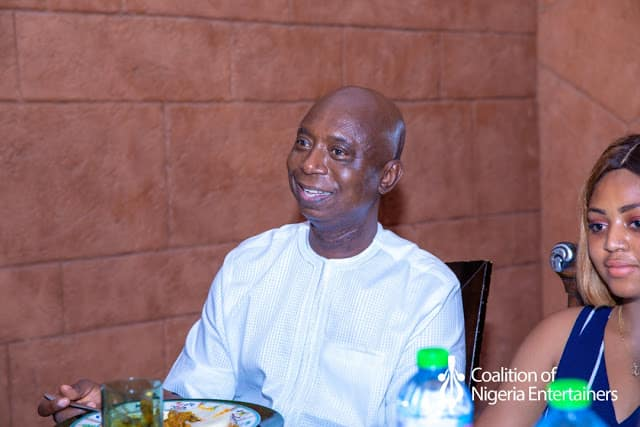 IMG 20190526 WA0077 - Photos: Regina Daniels Looks Romantically Into Husband, Ned Nwoko, Eyes As The Host People To Lunch