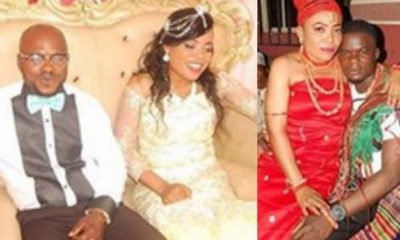 Man cries out as his estranged wife marries his best man (Photos)