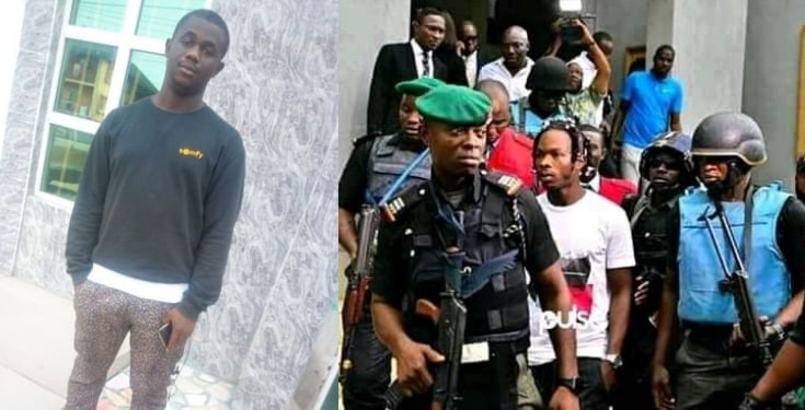 Man shares account number for people to raise ₦10m for Naira Marley's bail