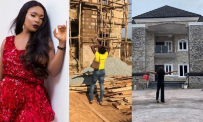 Nigerian blogger, Okoro Blessing completes a 7-bedroom duplex