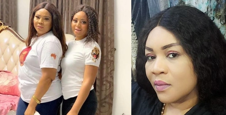 Nigerian lady drags Regina Daniels' mother to hell and back