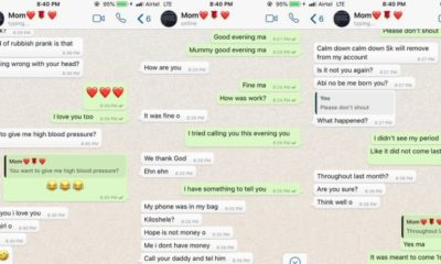 Nigerian lady pranks her mother, claims she's pregnant