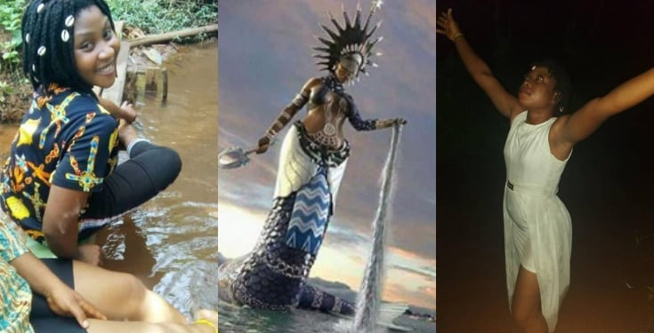 Nigerian mamiwater speaks glowingly about her goddess