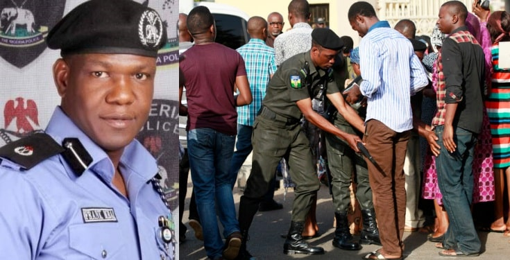 Nigerians have the right to search policemen - NPF