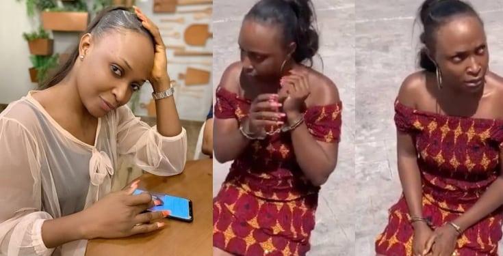 'Okoro Blessing arrest wasn't publicity stunt' – Onye Eze's girlfriend