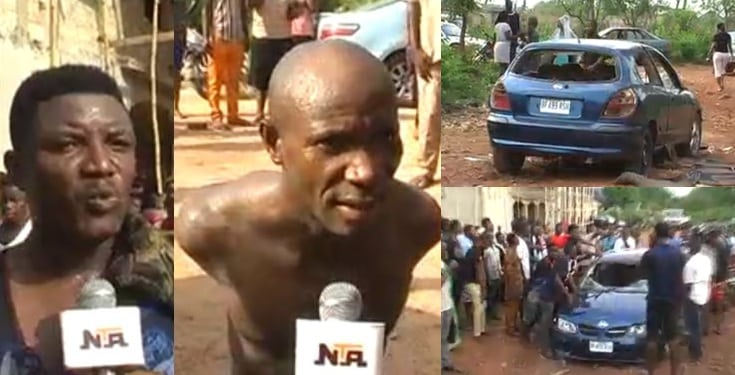 Pastor allegedly sends kidnappers to abduct another pastor in Edo State (Video)