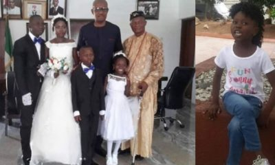 Photos from Success Adegor's parents wedding ceremony