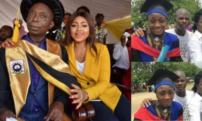Regina Daniels' stepson, Emzy, dissociates himself from his dad's wealth,