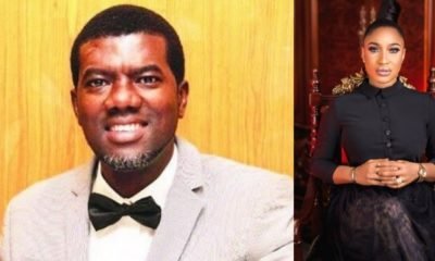 Reno Omokri reacts to Tonto Dikeh's outburst on ex-husband