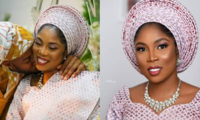See lovely photos from Tiwa Savage's lookalike wedding