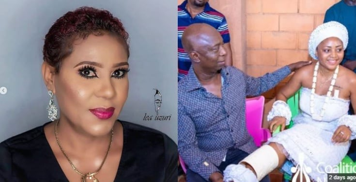 Shan George blasts Ned Nwoko calls him a dirty old man