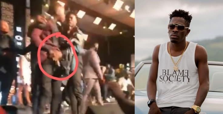 Shatta Wale calls out Stonebwoy for pulling out a gun on him on stage