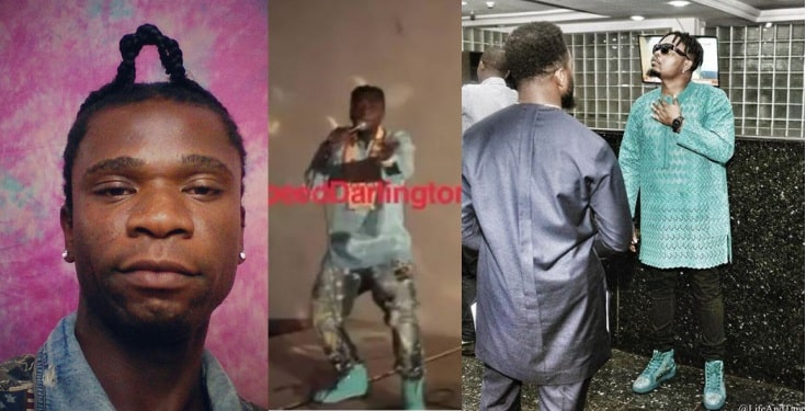 Speed Darlington blasts Olamide for 'stealing' his fashion style